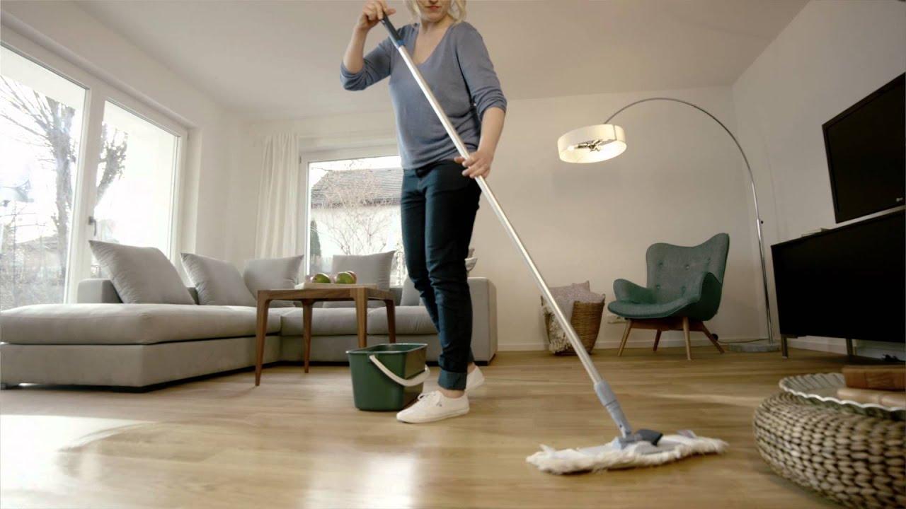 Boden reinigen zu Hause – Gepflegte Böden im ganzen Haus mit der ...