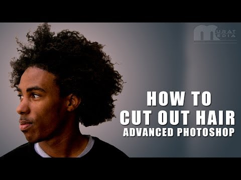 How To Cut Out Hair In Advanced Photoshop Tutorial In Tamil