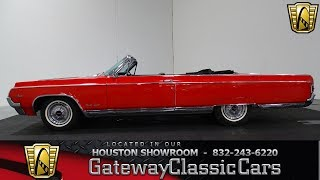 1964 Oldsmobile 98 Convertible #1066-HOU Gateway Classic Cars of Houston