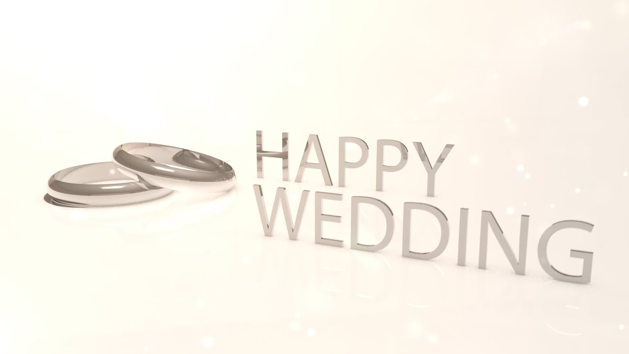 [オシャレ無料動画素材]結婚指輪・ハッピーウェディング・HAPPY WEDDING[キレイ] , YouTube
