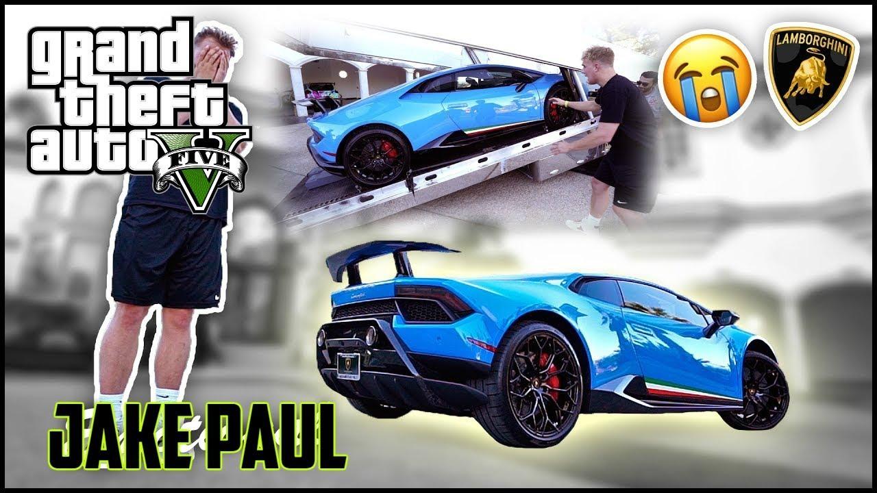 Lamborghini Mini Jake Paul