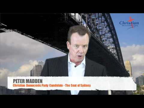 Peter Madden - Antidote to the Greens