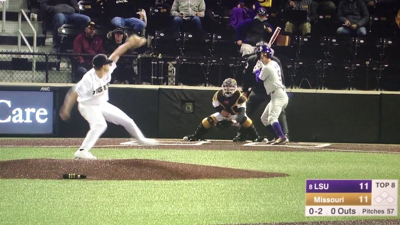 Chris Cornelius Mizzou Baseball- 2019 - YouTube