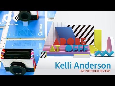 Graphic Designer Kelli Anderson   OFFF 2017   Adobe Creative Cloud