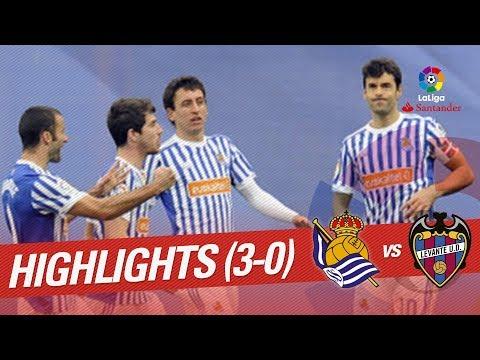 Resumen de Real Sociedad vs Levante UD (3-0)