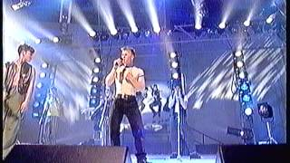 "Take That performing ""I Found Heaven"" on BBC TV's ""Top Of The Pops"""