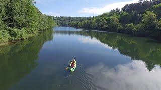 La Rivière d'Ain, en canoë kayak