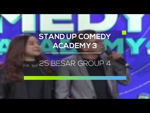 Highlight Stand Up Comedy Academy 3 - 25 Besar Group 4