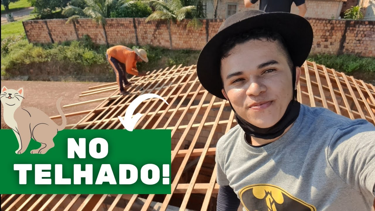 TELHADO DA CASA DE SEU BATISTA INICIA