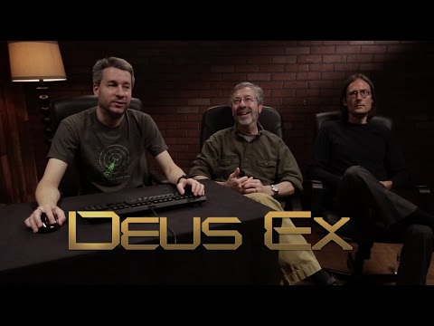Official Let's Play with the Creators - Deus Ex