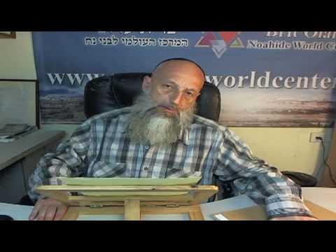 Бней Ноах - первые шаги, рав Йона Левин