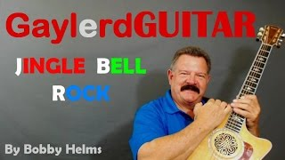 """Bobby Helms """"Jingle Bell Rock"""" Guitar Lesson - How to play"""