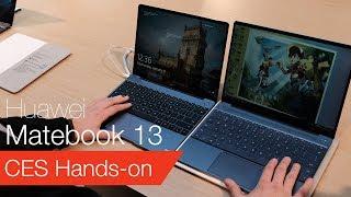 Huawei MateBook 13 vs MateBook X