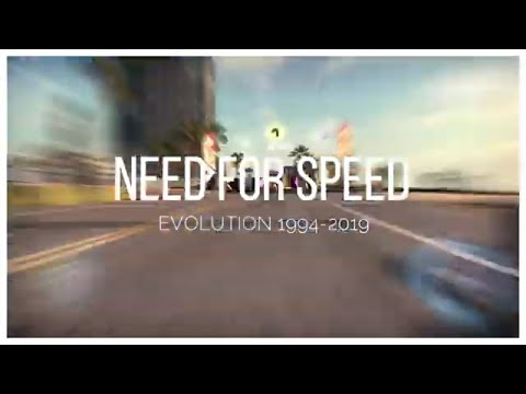 Evolution of Need For Speed Games (1994-2019)