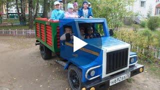 Его попросили сделать грузовик для садика! А он сделал ГАЗ 3307!