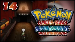 Pokémon Omega Ruby and Alpha Sapphire Walkthrough - Part 14: Team Magma Hideout in Lilycove City!