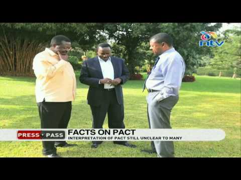 PressPass: Missing facts on the famous Uhuru-Raila  pact
