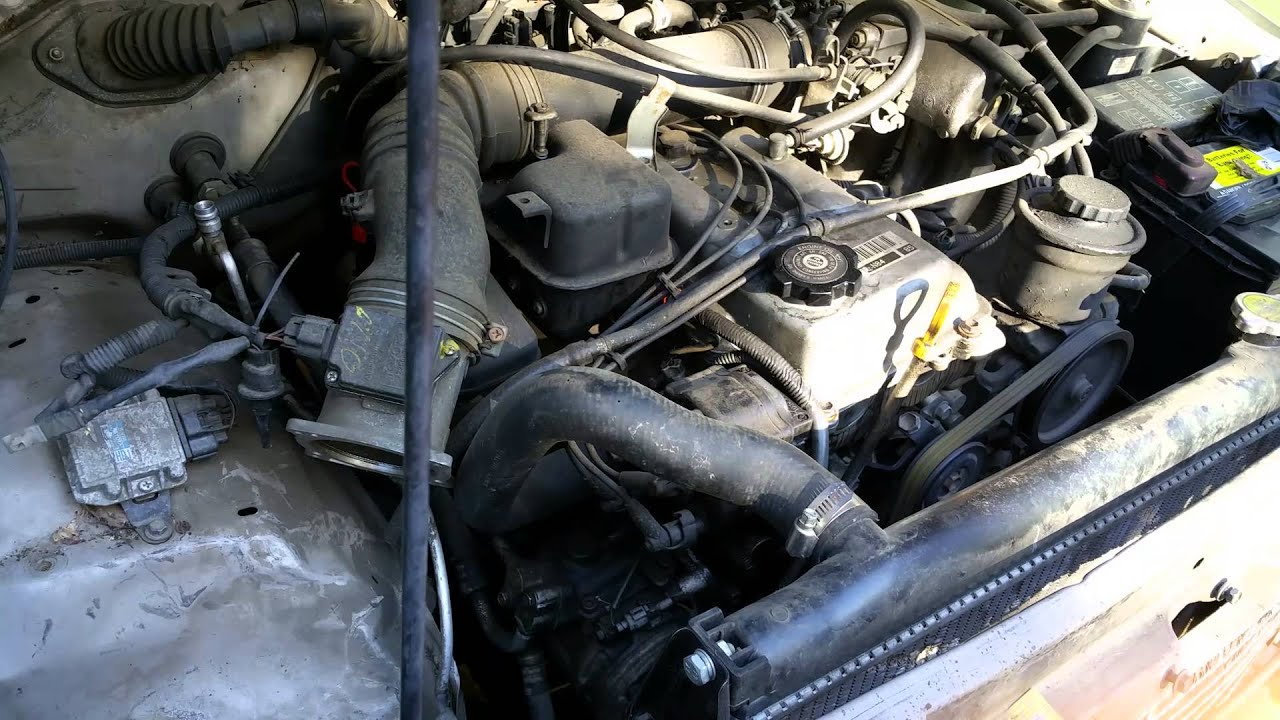 1995 Toyota Tacoma  4wd  3rz Engine Start