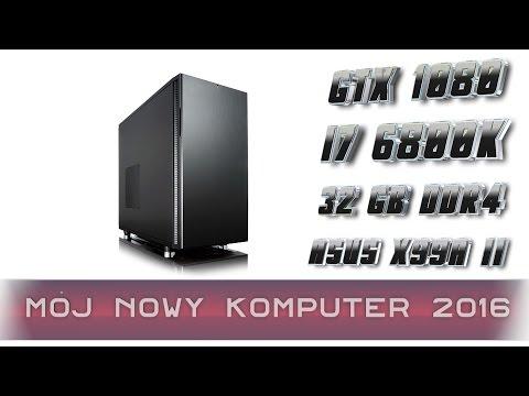 Mocny komputer do gier i pracy 2016
