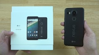 LG Google Nexus 5X Unboxing and First Look!!