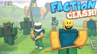ROBLOX NEW CODE FACTION CLASH