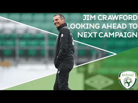 Interview   #IRLU21 Manager Jim Crawford looks to the next campaign and the future of Irish football