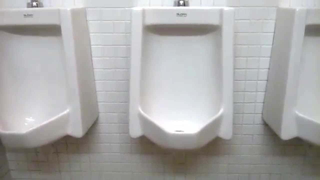 Newer Sloan High Efficiency Urinal And 1971 American