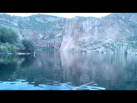 Early moring at canyon lake