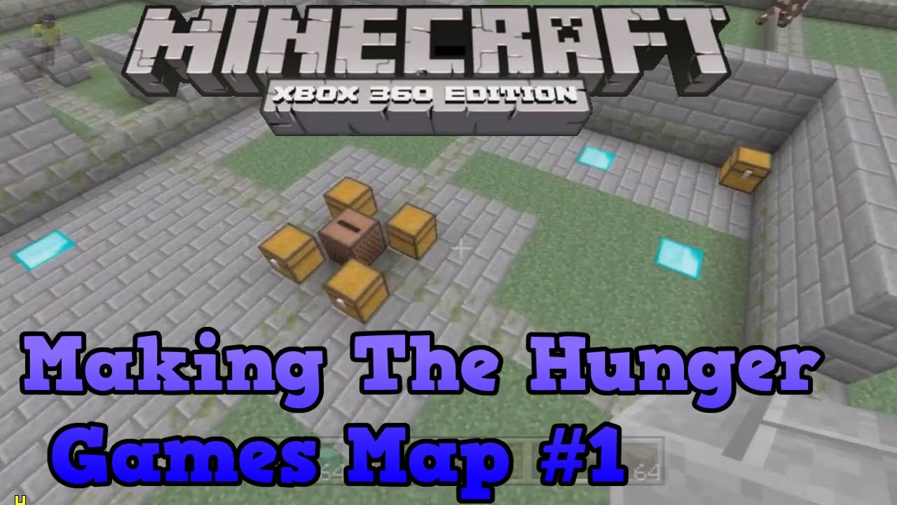Minecraft Xbox 360 Creative - Making The Hunger Games Map - YouTube