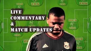 Pitch Talk Push Point 13-02-2012 - Suarez, Evra & the missing handshake
