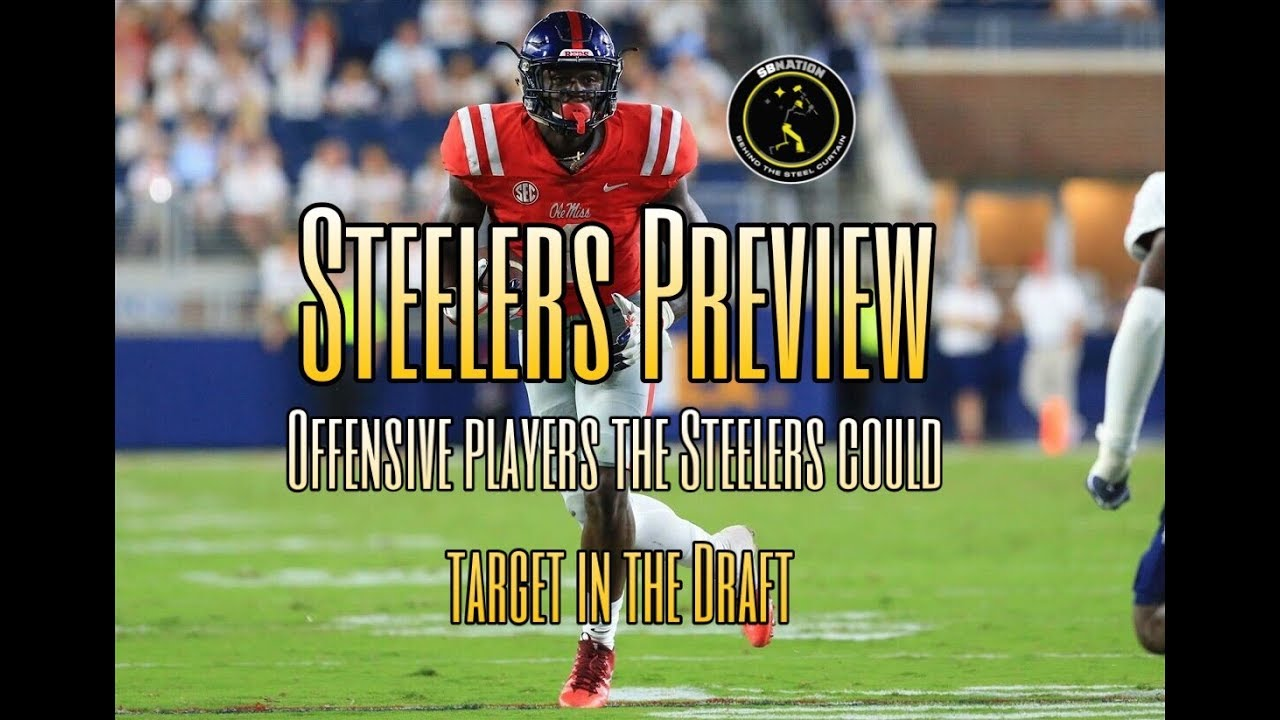 2b0bf2892 Steelers Preview  Offensive players the Steelers should target in the 2019  NFL Draft