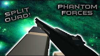 Roblox Phantom Forces - Split Quad! - #12 - Live Commentary