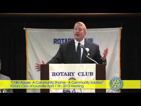 Rotary Club of Louisville April 11, 2013 Meeting, Dr Terry Brooks, Kentucky Youth Advocates