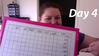 Weight Diary Day 4 + Star Chart Board :)