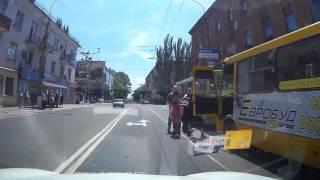 Разборка водил автобусов Мариуполь