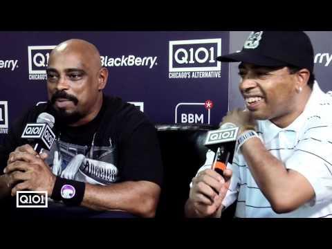 Kevin Manno interviews Sen Dog and Bobo of Cypress Hill at Lollapalooza 2010