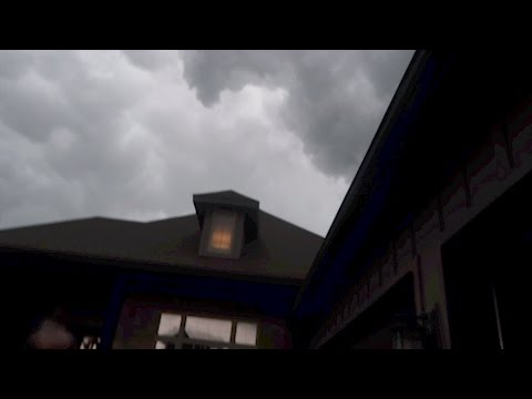A TORNADO WAS FORMING ABOVE MY HOUSE