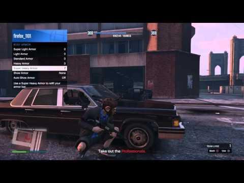 GTA 5 Online Rooftop Rumble