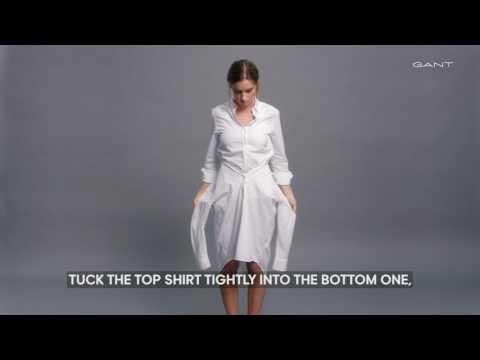 Gant - How To Make a Shirt Dress