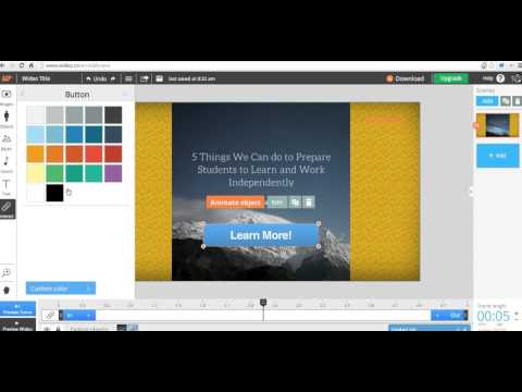 How to Create Interactive Videos on Wideo