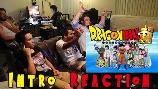 Dragon Ball Super Intro Reaction