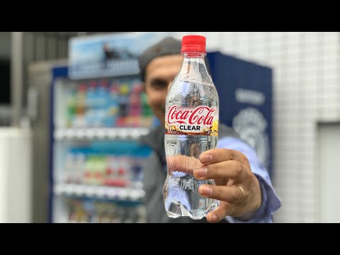 Clear Coca-Cola — but why Japan and not America first?