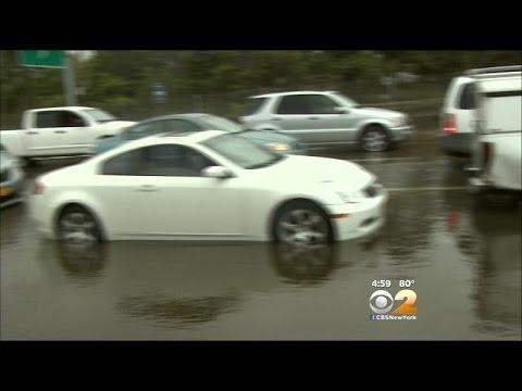 Heavy Rain Closes Parts Of 11 Major Long Island Highways