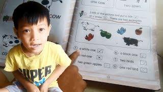 Dạy bé học tiếng anh lớp 1 - bài 24 ( Kiểm tra toàn bộ các bài đã học )