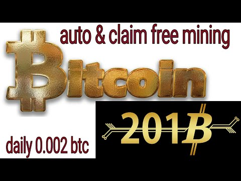 How to earn free Bitcoin?auto daily earn 0.002 btc||new lunch 2018.
