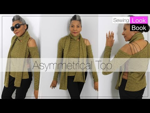 Sewing Look Book   Asymmetrical Top   Colleen G Lea