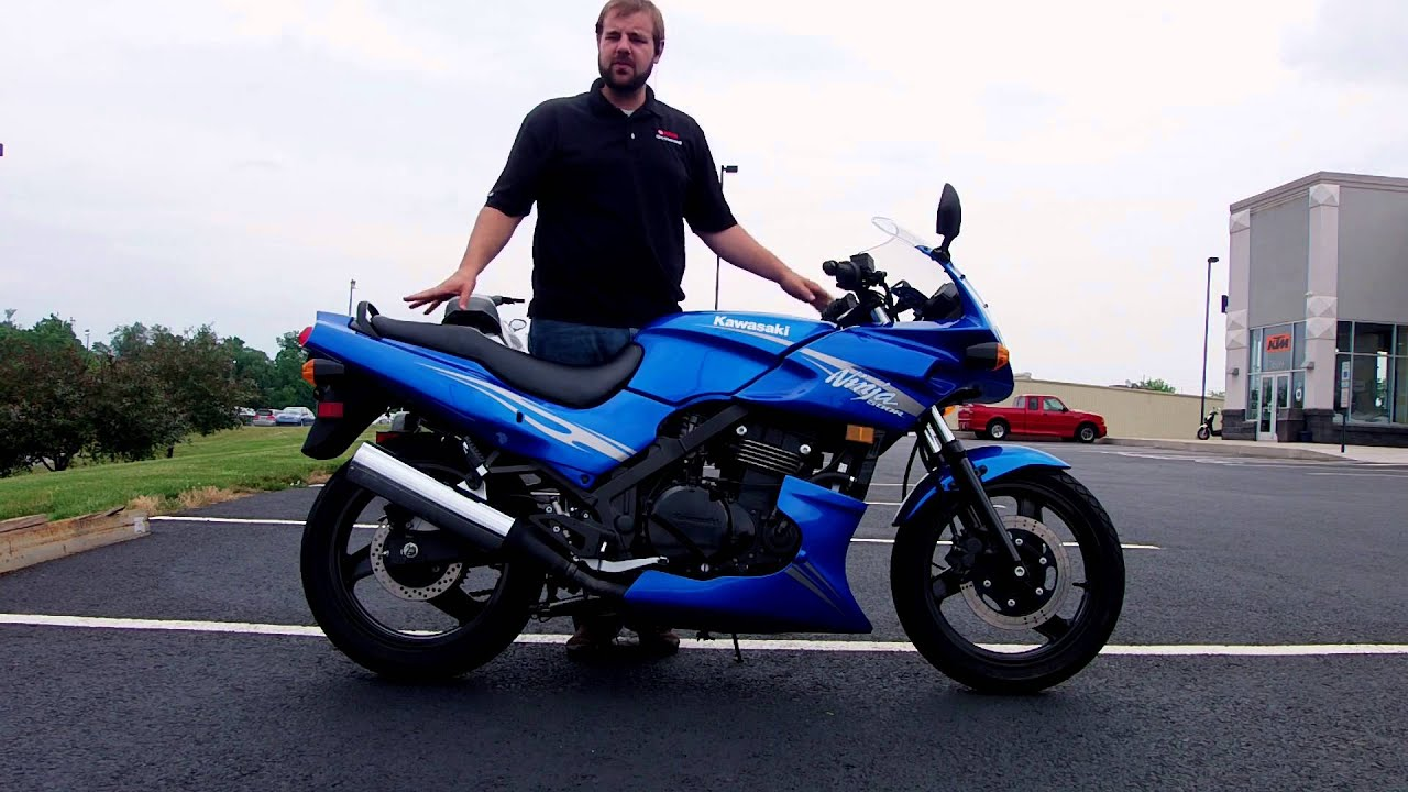 2009 Kawasaki Ninja 500R - YouTube