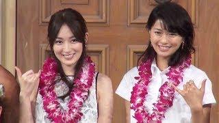 女優の榮倉奈々(26)が1日、東京・青海のヴィーナスフォートで開催中の...