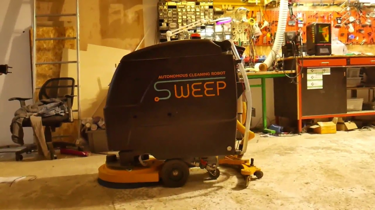 SWEEP - autonomous cleaning robot