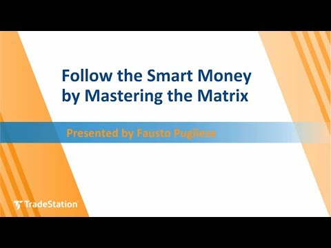 Follow the Smart Money by Mastering the Matrix